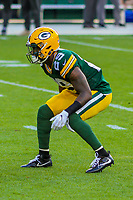 Green Bay Packers safety Kentrell Brice (29) during a preseason football game against the Philadelphia Eagles on August 10, 2017 at Lambeau Field in Green Bay, Wisconsin. Green Bay defeated Philadelphia 24-9.  (Brad Krause/Krause Sports Photography)