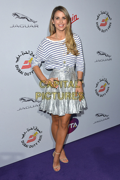 Vogue Williams<br /> attending the WTA Pre-Wimbledon Party at  The Roof Gardens, Kensington, London England 25th June 2015.<br /> CAP/PL<br /> &copy;Phil Loftus/Capital Pictures