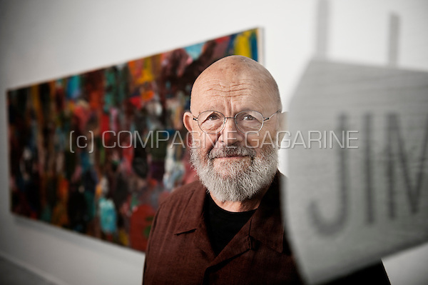 American pop artist and painter Jim Dine (Belgium, 05/11/2014)