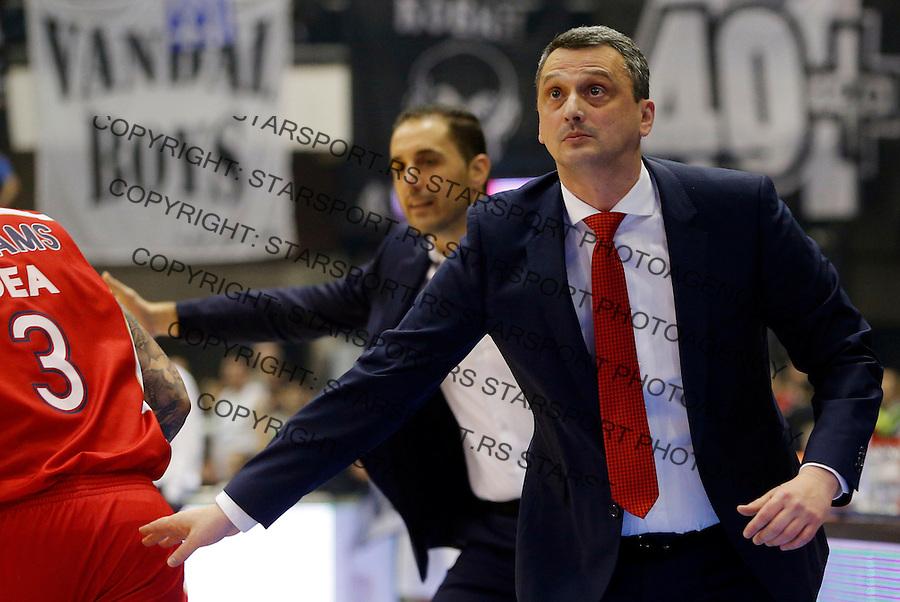 Dejan Radonjic Aba Jadranska Regionalna liga, derbi, Partizan - Crvena Zvezda, 23. kolo Beograd, Srbija, 1.3.2015.  (credit image & photo: Pedja Milosavljevic / STARSPORT).