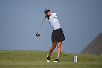 Cheyenne Knight (USA) watches her tee shot on 2 during the round 3 of the Volunteers of America Texas Classic, the Old American Golf Club, The Colony, Texas, USA. 10/5/2019.<br /> Picture: Golffile   Ken Murray<br /> <br /> <br /> All photo usage must carry mandatory copyright credit (© Golffile   Ken Murray)