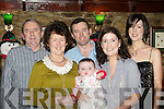 Cathal, Catherine, Seamus, Charlie, Susan and Triona Foley Killorglin enjoying seeing in the New Year with family at Nicks restaurant Killorglin