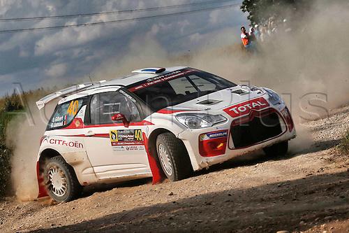 02.07.2016. Mikolajki, Poland. WRC Rally of Poland, stages 12-17.  GILBERT