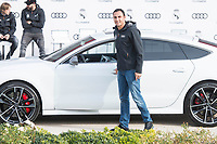 Keylor Navas of Real Madrid CF poses for a photograph after being presented with a new Audi car as part of an ongoing sponsorship deal with Real Madrid at their Ciudad Deportivo training grounds in Madrid, Spain. November 23, 2017. (ALTERPHOTOS/Borja B.Hojas) /NortePhoto.com NORTEPHOTOMEXICO