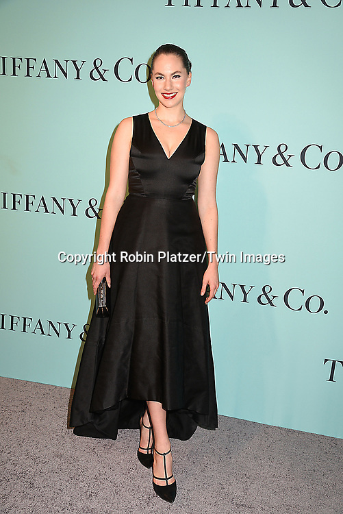 Emma Hepburn Ferrer attends the Tiffany &amp; Co 2017 Blue Book Collection on April 21, 2017 at St Ann's Warehouse in Brooklyn, New York, USA.<br /> <br /> photo by Robin Platzer/Twin Images<br />  <br /> phone number 212-935-0770
