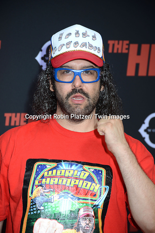 "Judah Freidlander attends the New York Premiere of ""The Heat"" on June 23,2013 at the Ziegfeld Theatre in New York City. The movie stars Sandra Bullock, Melissa McCarthy, Demian Bichir, Marlon Wayans, Joey McIntyre, Jessica Chaffin, Jamie Denbo, Nate Corddry, Steve Bannos, Spoken Reasons and Adam Ray."