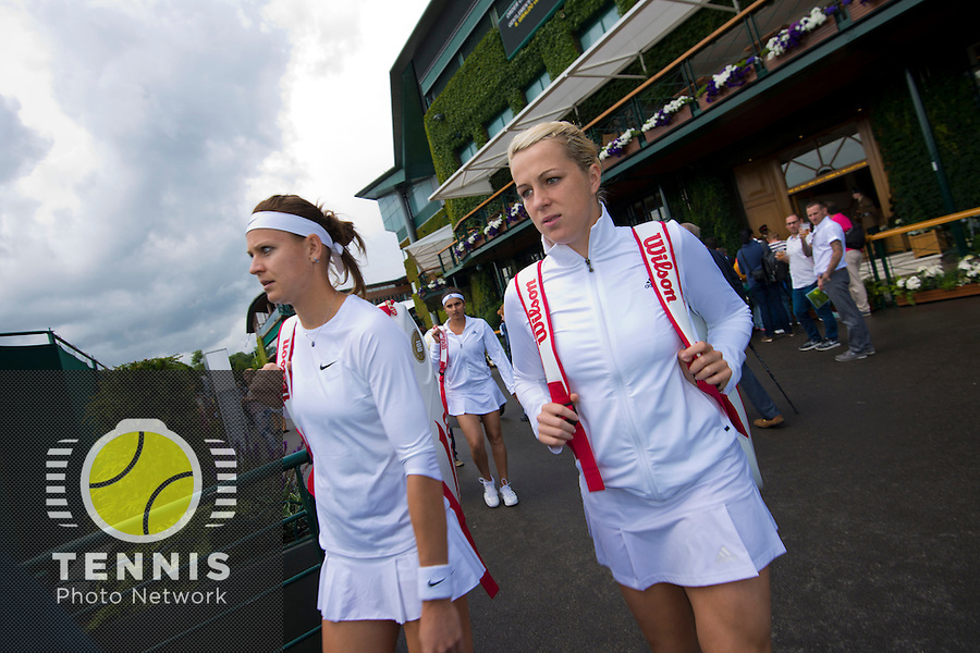 Wimbledon, 27/6/2014<br /> <br /> AMBIENCE<br /> <br /> © Ray Giubilo/ Tennis Photo Network