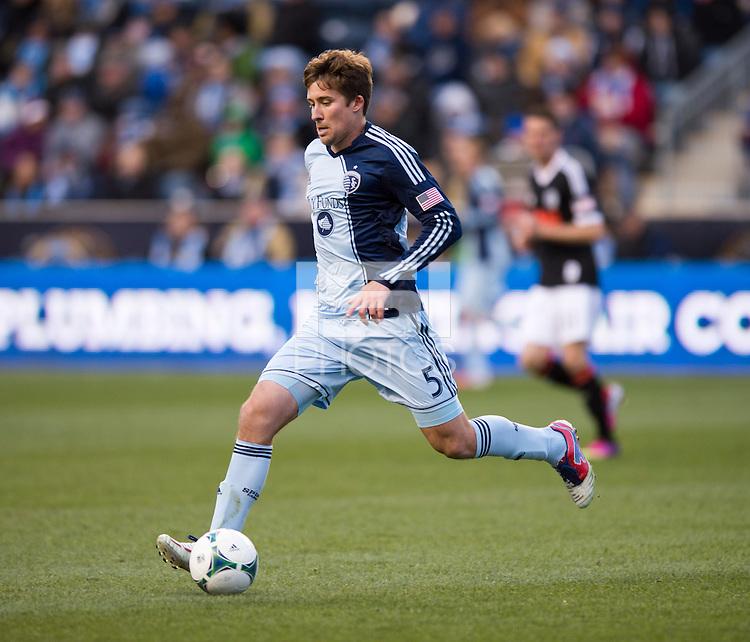 Matt Besler.  Sporting Kansas City defeated Philadelphia Union, 3-1. at PPL Park in Chester, PA.