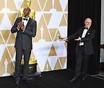 04.03.2018; Hollywood, USA: KOBE BRYANT AND GLEN KEANE<br /> at the 90th Annual Academy Awards held at the Dolby&reg; Theatre in Hollywood.<br /> Mandatory Photo Credit: &copy;Francis Dias/Newspix International<br /> <br /> IMMEDIATE CONFIRMATION OF USAGE REQUIRED:<br /> Newspix International, 31 Chinnery Hill, Bishop's Stortford, ENGLAND CM23 3PS<br /> Tel:+441279 324672  ; Fax: +441279656877<br /> Mobile:  07775681153<br /> e-mail: info@newspixinternational.co.uk<br /> Usage Implies Acceptance of Our Terms &amp; Conditions<br /> Please refer to usage terms. All Fees Payable To Newspix International
