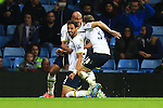 Tottenham's Nacer Chadli celebrates his equalising goal - Aston Villa vs. Tottenham Hotspurs - Barclay's Premier League - Villa Park - Birmingham - 02/11/2014 Pic Philip Oldham/Sportimage