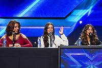 """The X Factor"""" Season Finale Press Conference held at CBS Studios on December 17, 2012 in Los Angeles, California. Photo Credit: RTnColin/Mediapunchinc /NortePhoto"""