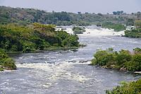 UGANDA, Karuma, White Nile, Falls