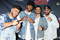 """LOS ANGELES - AUG 27:  Berywam Beatboxers, Beatness, Rythmind, Wawad and Beasty at the """"America's Got Talent"""" Season 14 Live Show Red Carpet at the Dolby Theater on August 27, 2019 in Los Angeles, CA"""