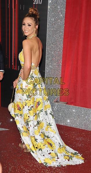 Lucy-Jo Hudson at the British Soap Awards 2017, The Lowry Theatre, Pier 8, Salford Quays, Salford, Manchester, England, UK, on Saturday 03 June 2017.<br /> CAP/CAN<br /> &copy;CAN/Capital Pictures