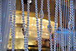beads of the chandelier bar cosmopolitan Las Vegas