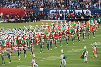 Marching Band der Florida A&M<br /> Super Bowl XLIV: Indianapolis Colts vs. New Orleans Saints *** Local Caption *** Foto ist honorarpflichtig! zzgl. gesetzl. MwSt. Auf Anfrage in hoeherer Qualitaet/Aufloesung. Belegexemplar an: Marc Schueler, Alte Weinstrasse 1, 61352 Bad Homburg, Tel. +49 (0) 151 11 65 49 88, www.gameday-mediaservices.de. Email: marc.schueler@gameday-mediaservices.de, Bankverbindung: Volksbank Bergstrasse, Kto.: 52137306, BLZ: 50890000