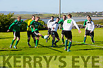 Action from Greyhound Bar KO Cup Quarter Final Replay Fenit Samphires  V  Castleisland Afc at Fenit on Sunday