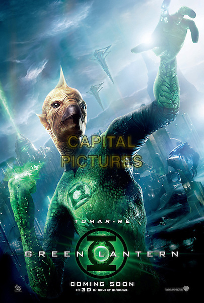 KEY POSTER ART.in Green Lantern .*Filmstill - Editorial Use Only*.CAP/FB.Supplied by Capital Pictures.