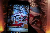 SÃO PAULO, 23.12.2018 - EXPOSIÇÃO QUADRINHOS - Movimentação no Museu da Imagem e do Som (MIS) durante a exposição Quadrinhos. A exospição será exibida até o mes de março de 2018 sem restrição de idade.<br /> <br /> (Foto: Fabricio Bomjardim / Brazil Photo Press)
