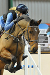Class 4. Area 40 British showjumping christmas show. Brook Farm Training Centre. Essex. UK. 01/12/2018. ~ MANDATORY Credit Garry Bowden/Sportinpictures - NO UNAUTHORISED USE - 07837 394578
