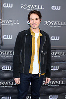 "WEST HOLLYWOOD, CA - JANUARY 10:  Tyler Blackburn at the ""Roswell, New Mexico"" Experience at the 8801 Sunset Blvd on January 10, 2019 in West Hollywood, CA Credit: David Edwards/MediaPunch"