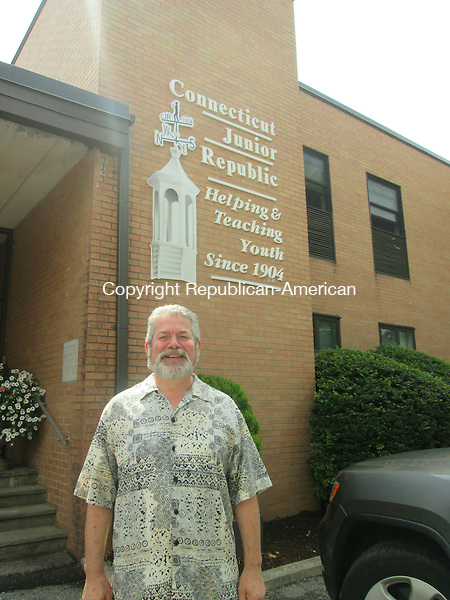 WATERBURY,CT- 18 July 2015- 071815DL02-- David Burgos, program supervisor of Connecticut Junior Republic has served the agency for 22 years. He has been chosen as Waterbury's 2015 Puerto Rican Mayor for the Day. Destiny Lopez Republican-American