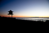 Lifeguard Tower Sunrise - Gold Coast, Australia
