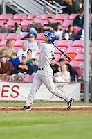 July 7, 2009: Tri-City Dust Devils' Jeremiah Sammy at-bat during a Northwest League game against the Salem-Keizer Volcanoes at Volcanones Stadium in Salem, Oregon.