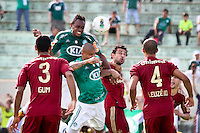 ATENÇÃO EDITOR: FOTO EMBARGADA PARA VEÍCULOS INTERNACIONAIS PRESIDENTE PRUDENTE 11 NOVEMBRO 2012 - CAMPEONATO BRASILEIRO - PALMEIRAS x FLUMINENSE - Obina jogador do Palmeiras  durante partida Palmeiras x Fluminense válido pela 35º rodada do Campeonato Brasileiro no Estádio Eduardo José Farah. Apelido, (Prudentão), no interior paulista na tarde deste domingo (11).(FOTO: ALE VIANNA -BRAZIL PHOTO PRESS)