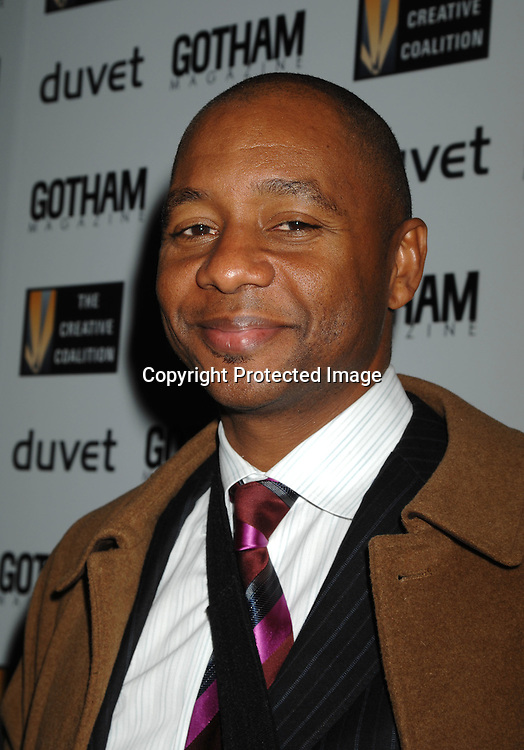 Branford Marsalis..arriving at The Creative Coaltion's 2006 Spotlight and Christopher Reeve First Amendment Awards Gala hosted by ..Gotham Magazine on December 18, 2006 at Duvet in New York...Robin Platzer, Twin Images
