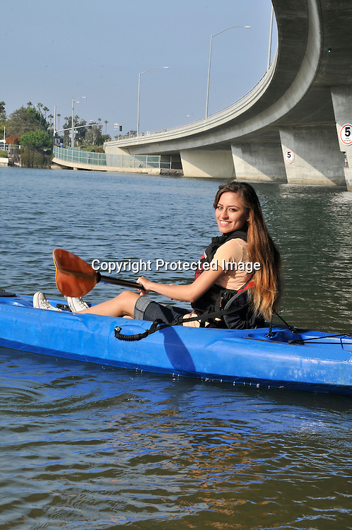 Royalty Free Stock photo of  Kayaking