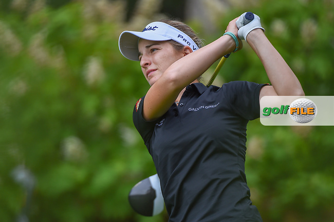 Luna Sobron Galmes (ESP) watches her tee shot on 14 during round 1 of the U.S. Women's Open Championship, Shoal Creek Country Club, at Birmingham, Alabama, USA. 5/31/2018.<br /> Picture: Golffile   Ken Murray<br /> <br /> All photo usage must carry mandatory copyright credit (© Golffile   Ken Murray)
