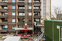 Facaderenovering hos Ejerforeningen Rustenborg, Boulevarden i Lyngby.