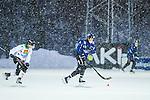 Uppsala 2014-01-12 Bandy  IK Sirius - GAIS Bandy :  <br />  Sn&ouml;n faller under matchen mellan Sirius och GAIS Bandy<br /> (Foto: Kenta J&ouml;nsson) Nyckelord:  sn&ouml; sn&ouml;v&auml;der v&auml;der