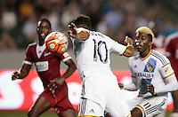 Carson, CA. - Thursday, August 6, 2015: The Los Angeles Galaxy defeated Central FC of Trinidad and Tobago 5-1 during 2015-16 CONCACAF Champions League play at StubHub Center.