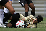 30 August 2009: Central Florida's Lynzee Lee. The Duke University Blue Devils lost 3-2 to the University of Central Florida Knights at Fetzer Field in Chapel Hill, North Carolina in an NCAA Division I Women's college soccer game.