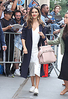 NEW YORK, NY - JUNE 15: Jessica Alba seen at The View in New York City on June 15, 2017. Credit: RW/MediaPunch