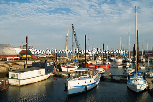 Hoo St Werburgh, Kent  Uk. Marina River Medway estuary.