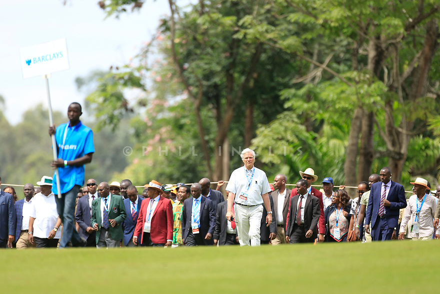 Alain de Soultrait, Director Challenge Tour during the final round of the Barclays Kenya Open played at Muthaiga Golf Club, Nairobi, Kenya 22nd - 25th March 2018 (Picture Credit / Phil Inglis) 22/03/2018<br /> <br /> <br /> All photo usage must carry mandatory copyright credit (&copy; Golffile | Phil Inglis)