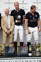 Polo at Badminton<br /> The Duke of Cambridge<br /> at The Beaufort Polo Club, Tilbury, Gloucestershire, England on June 10, 2018.<br /> CAP/GOL<br /> &copy;GOL/Capital Pictures