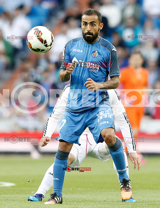 Getafe's  Diego Castro during La Liga match. May 23,2015. (ALTERPHOTOS/Acero) /NortePhoto.com