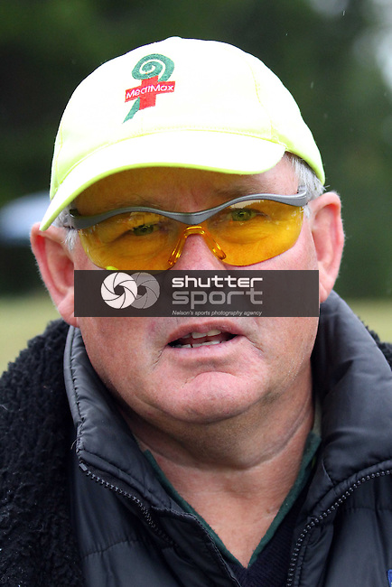 MediMax had a couple of customers at the finish of the Half Marathon &amp; Road Relay, Rabbit Island, SI Masters Games, 22 October 2011, Nelson, New Zealand<br /> Photo: Marc Palmano/shuttersport.co.nz