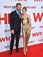 Actors Bryan Cranston &amp; Zoey Deutch at the world premiere of &quot;Why Him?&quot; at the Regency Bruin Theatre, Westwood. December 17, 2016<br /> Picture: Paul Smith/Featureflash/SilverHub 0208 004 5359/ 07711 972644 Editors@silverhubmedia.com