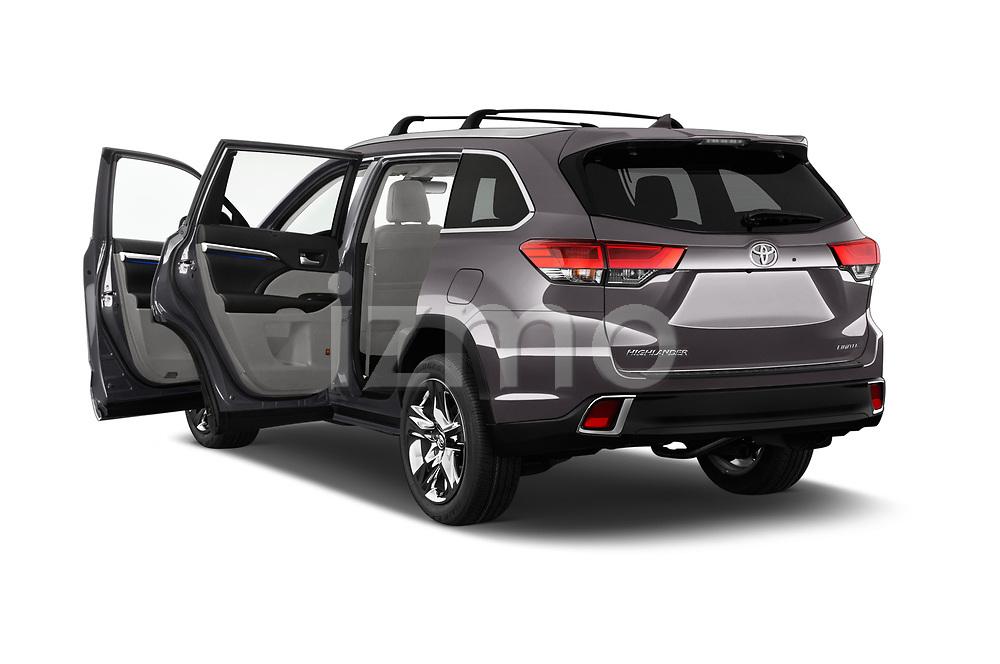 Car images of 2017 Toyota Highlander Limited-Platinum 5 Door SUV Doors