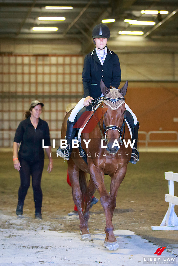 NZL-Chontelle Honour rides Letz Danse in the Boeckmann Horsefloats II Para-Equestrian Championship Test. FINAL-1ST. 2017 NZL-Bates NZ Dressage Championships. Manfeild Park, Feilding. Friday 3 February. Copyright Photo: Libby Law Photography