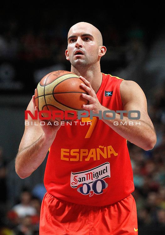 Spain's Xavi Rey during friendly match.August 23,2012. Foto © nph / Acero)