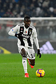 2nd February 2019, Allianz Stadium, Turin, Italy; Serie A football, Juventus versus Parma; Blaise Matuidi of Juventus on the ball