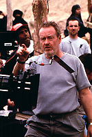 Gladiator (2000)<br /> Behind the scenes photo of Ridley Scott<br /> *Filmstill - Editorial Use Only*<br /> CAP/KFS<br /> Image supplied by Capital Pictures