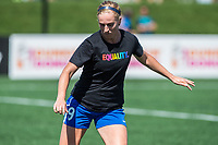 Boston, MA - Saturday June 24, 2017: Natasha Dowie during a regular season National Women's Soccer League (NWSL) match between the Boston Breakers and the North Carolina Courage at Jordan Field.
