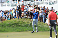Brandt Snedeker (USA) in action during the final round of the Northern Trust played at Liberty National Golf Club, Jersey City, USA. 12/08/2019<br /> Picture: Golffile | Phil INGLIS<br /> <br /> All photo usage must carry mandatory copyright credit (© Golffile | Phil INGLIS)